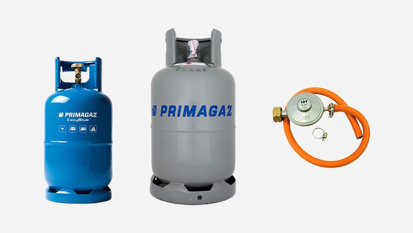 Gasflessen en gasdrukregelaar