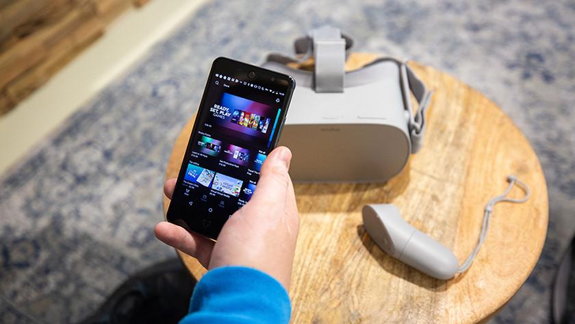 Set Oculus Go