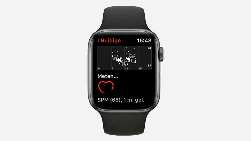 Hartslag meten met Apple Watch