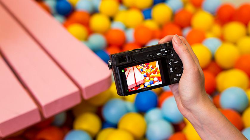 Focus with the Sony Alpha A6500