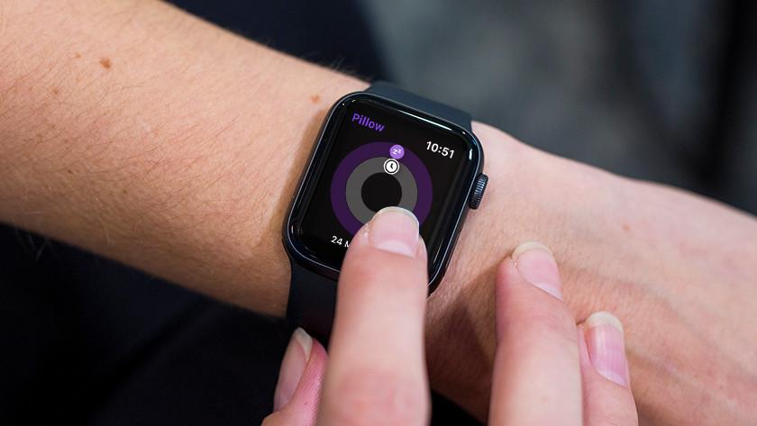 Apple Watch Pillow app