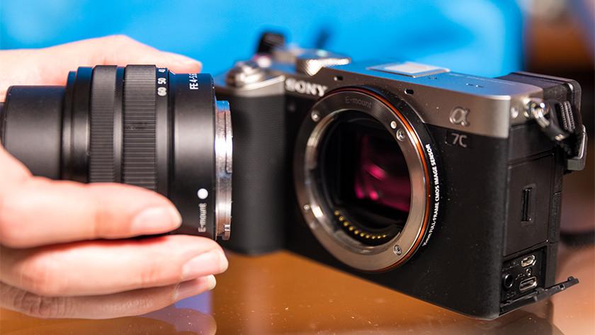 Lensvatting Sony systeemcamera's