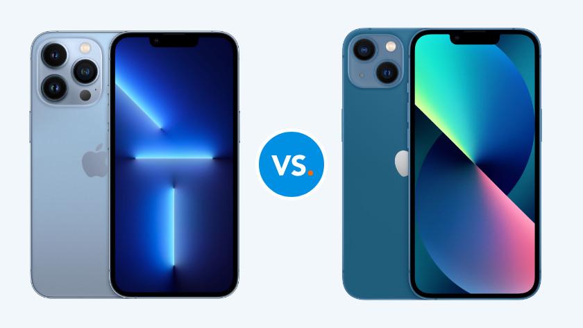 iPhone 13 vergelijken