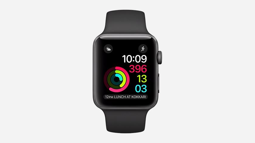 Apple Watch 2 gebruikssituatie