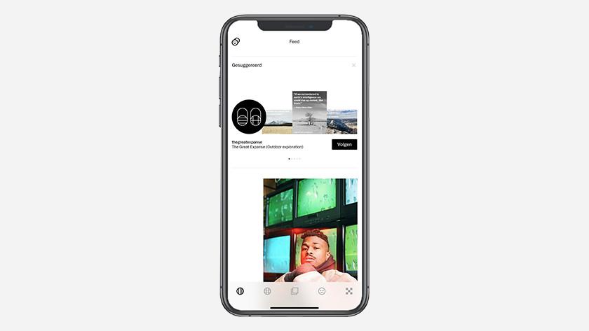 VSCO app foto's bewerken