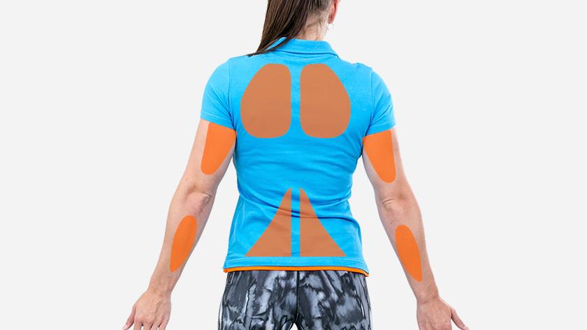 Rigspieren schouderspieren en armspieren crosstrainer