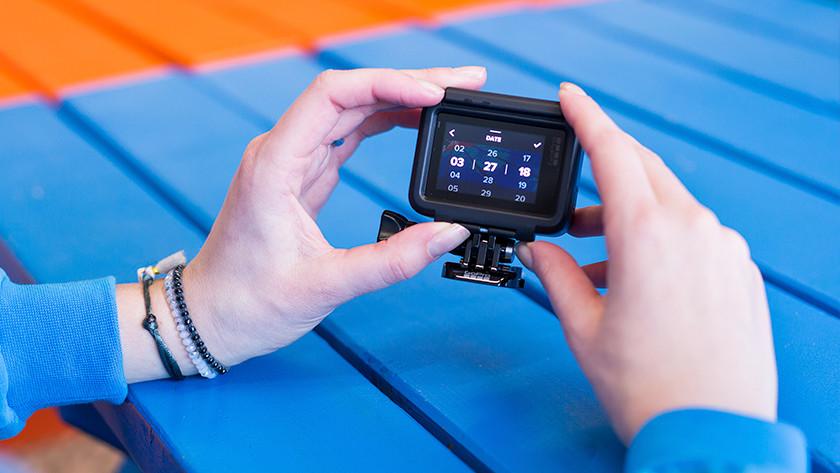 Bediening via touchscreen