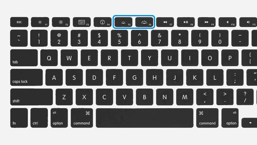 Ajuster le rétroéclairage du clavier