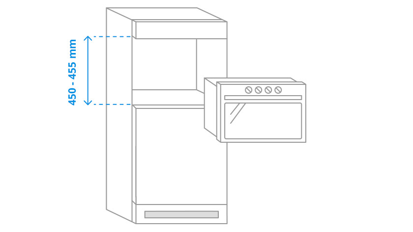 Niche height microwaves