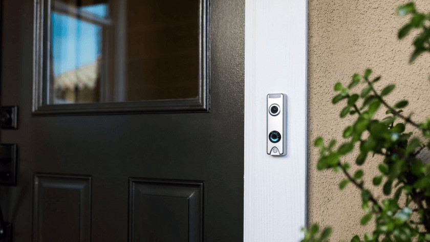 Doorbell with night mode