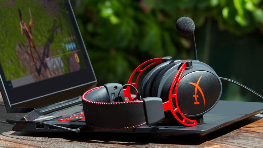 Een gaming headset voor online communicatie