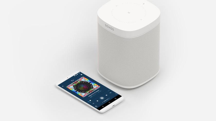 Alexa op je Sonos speaker