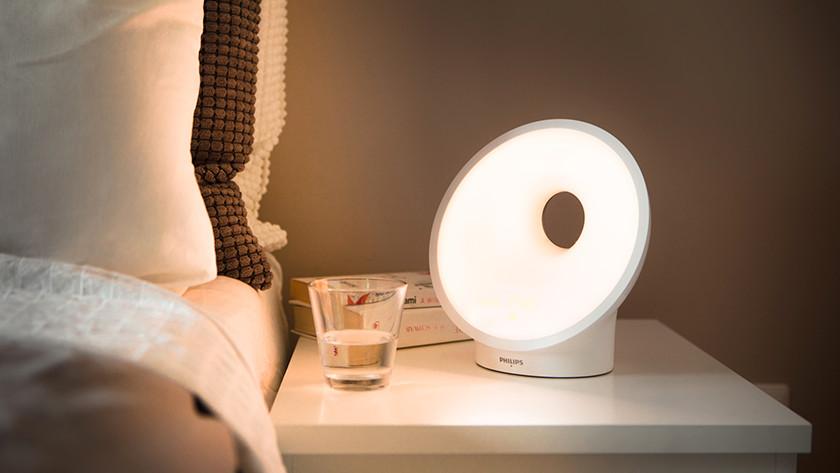 Philips Somneo HF3650 : fonction lever du soleil