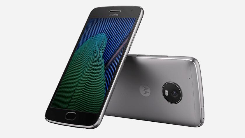 Moto G5 Plus appearance