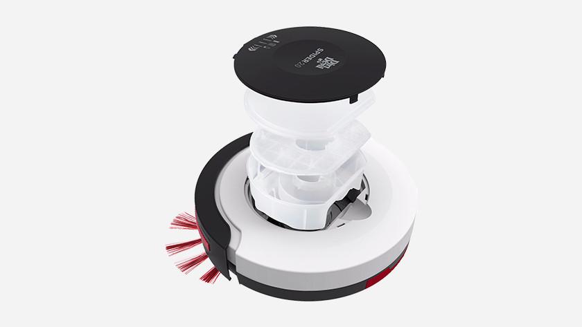 Filter robotstofzuiger schoonmaken