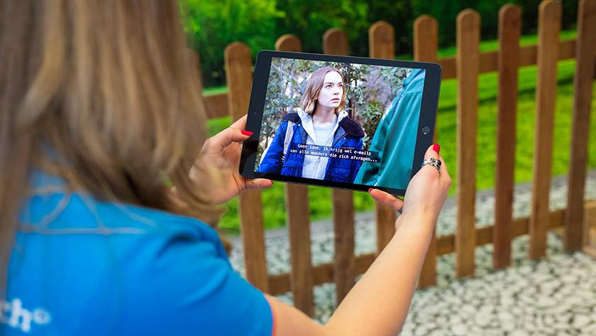 Series kijken op iPad 2019