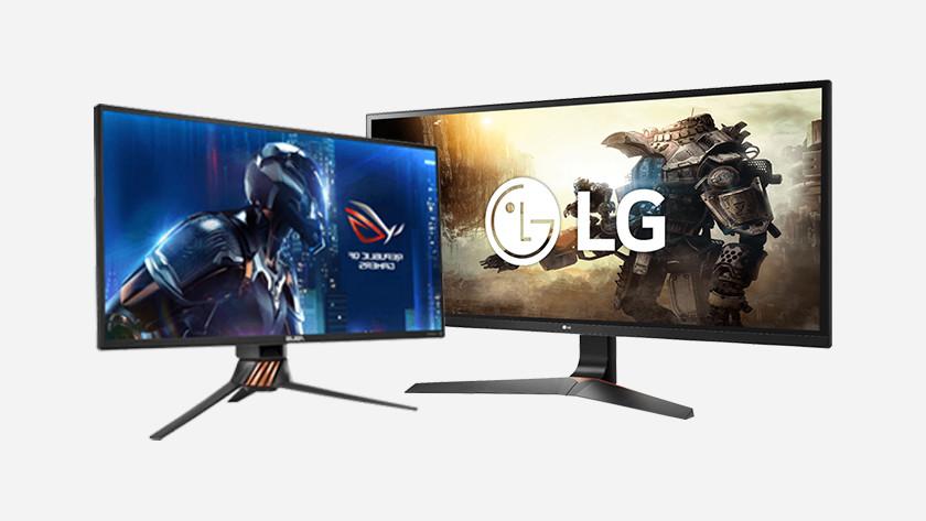 LG ROG Republic of Gamers monitor hulp bij keuze kiezen beeldscherm Hz Hertz