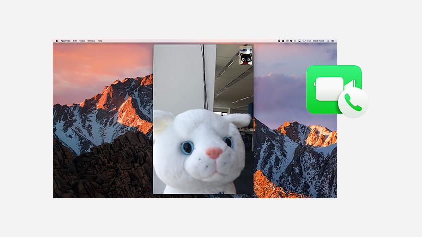 Apple iPhone telefoongesprek opnemen met Apple MacBook