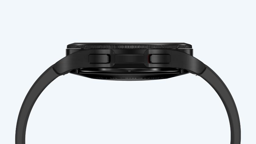 Samsung Galaxy Watch4 zijkant