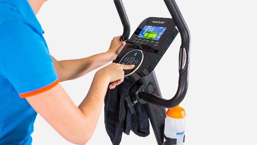 Exercise bike ergometer