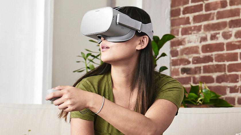 Oculus Go spelen