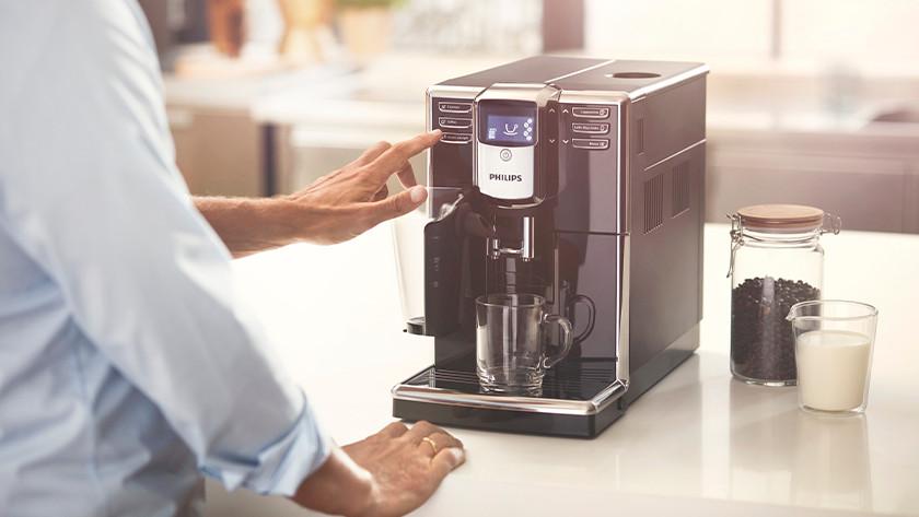 koffiesmaak instellen knop