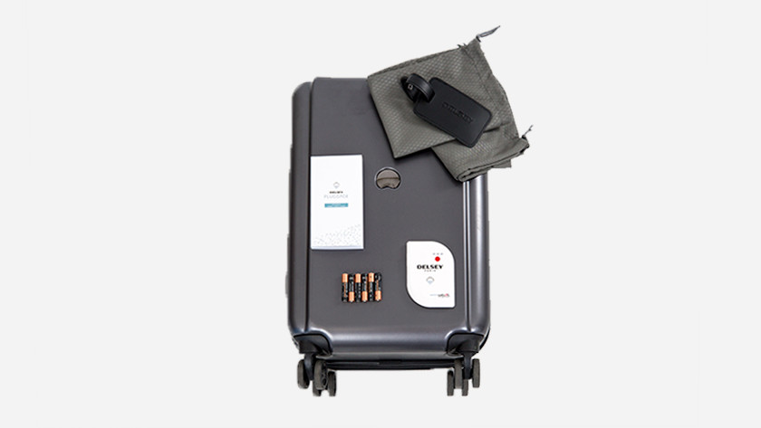 First impression suitcase