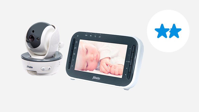 Image baby monitor with parent monitor
