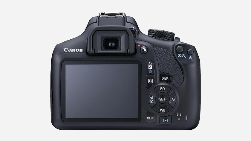 Commande du Canon EOS 1300D