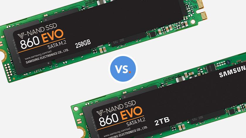 250GB ssd of 2 tb ssd