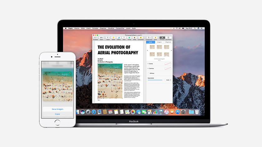 Universeel klemboord Apple iPhone en Apple Macbook