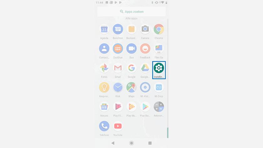 Réinitialiser un Android One