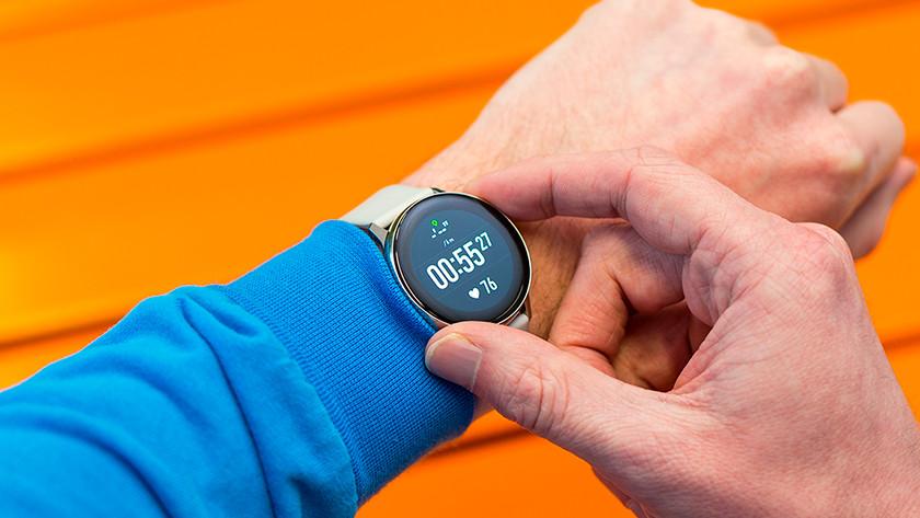Samsung Galaxy Watch Active sport training trainen