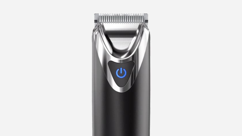Tondeuse à barbe avec sabot fixe