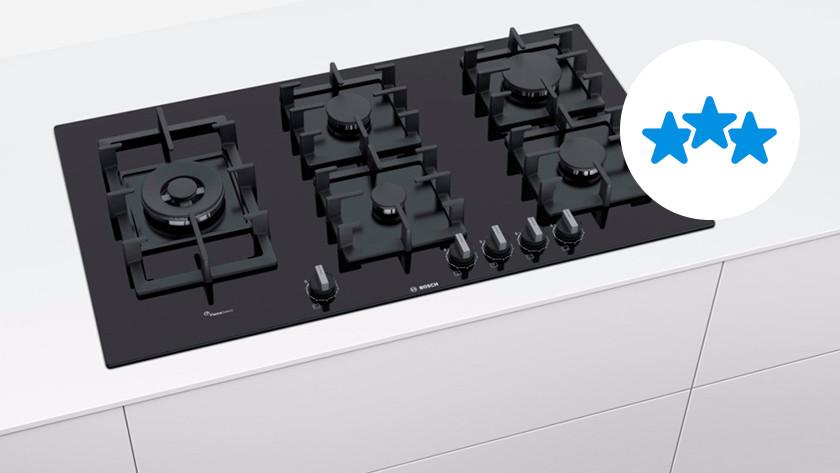 bouwkwaliteit topklasse kookplaat
