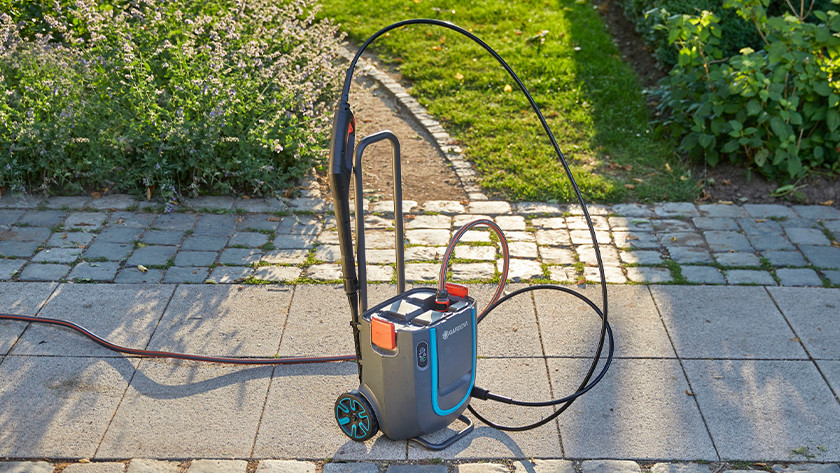 Garden hose and high-pressure hose