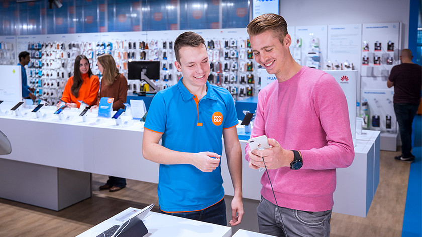 Advies over iPhone in de winkel