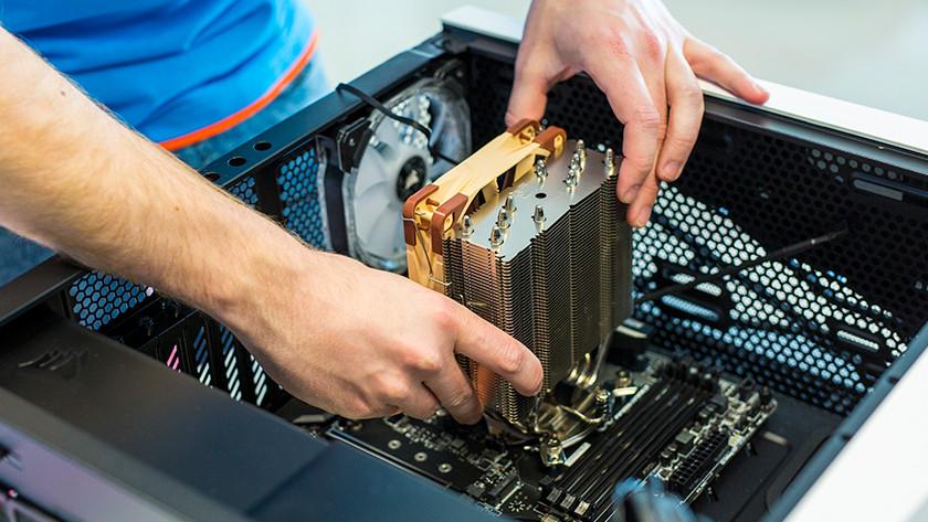 Place processor cooler PC
