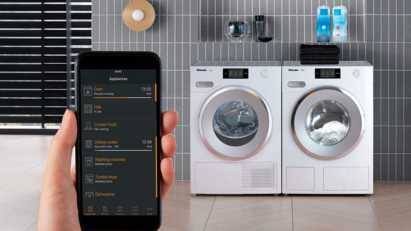 Connect the washing machine to WiFi