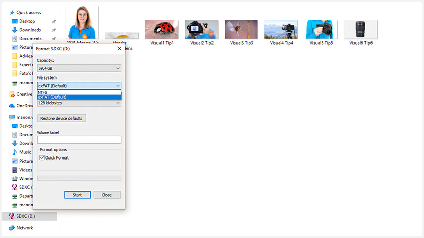 Type de fichier