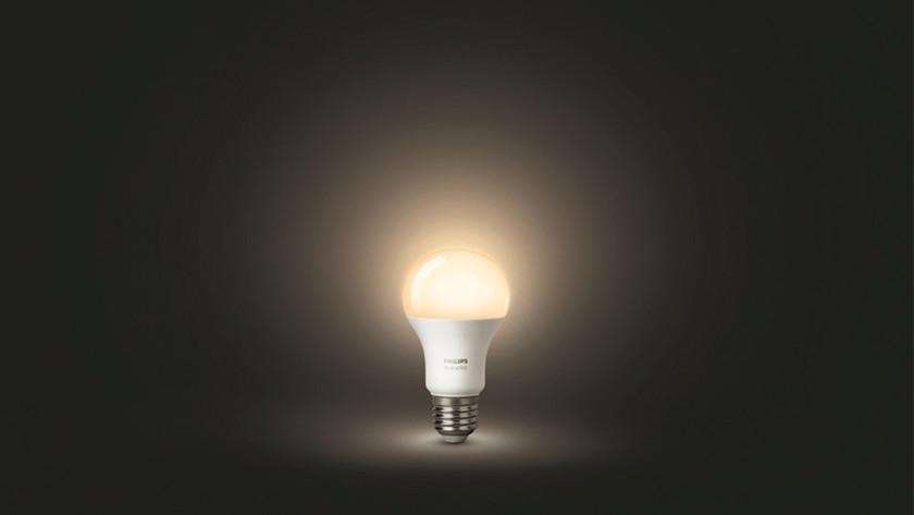 Couleur de la lumière d'une ampoule connectée