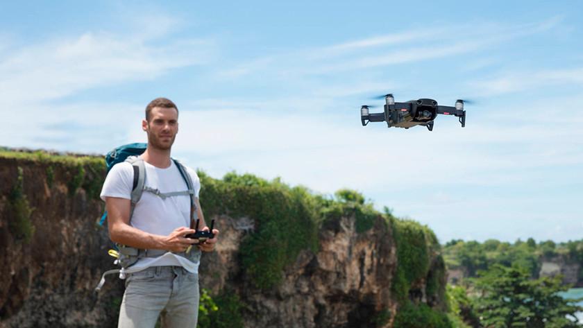 zichtbaarheid drone