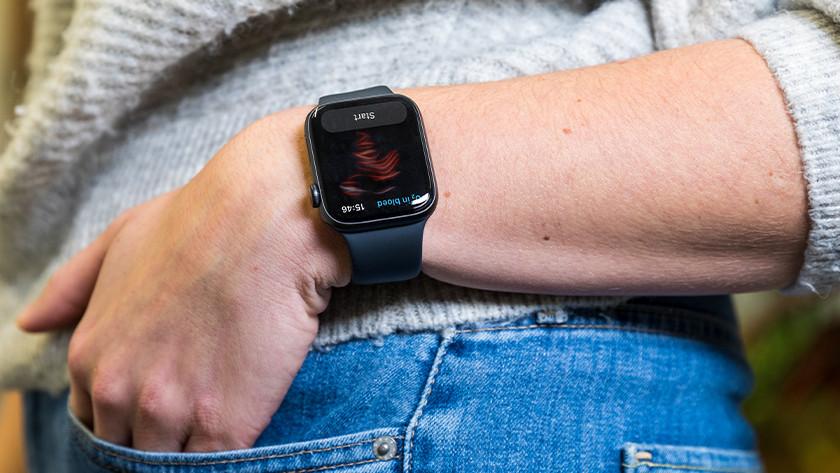 SpO2 meting Apple Watch