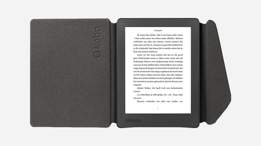 e-reader with cover