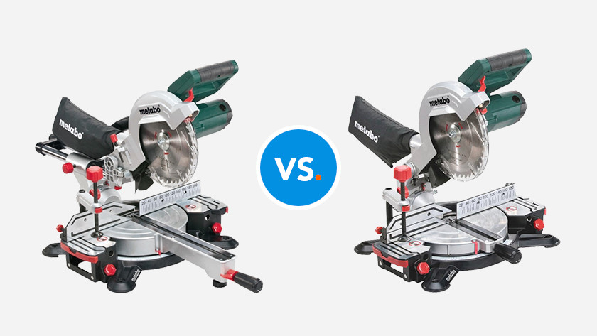 Metabo KGS216M vs. Metabo KS216M