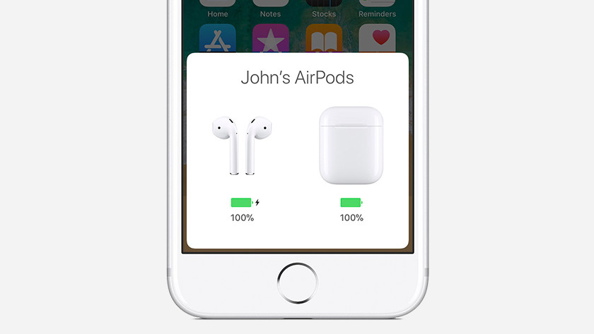 24-hour battery AirPods