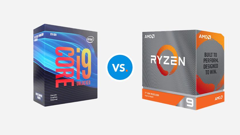 AMD Ryzen 9 CPU vs Intel Core i9 processor