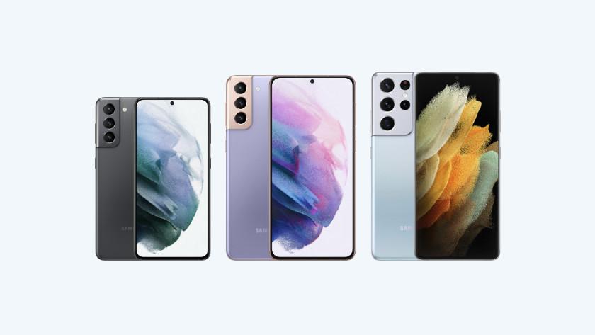 Samsung Galaxy modellen