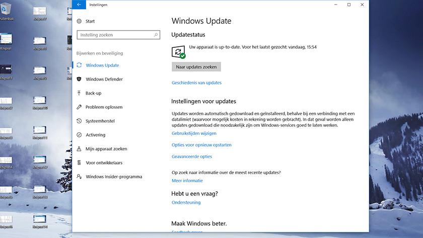Find Windows Update.