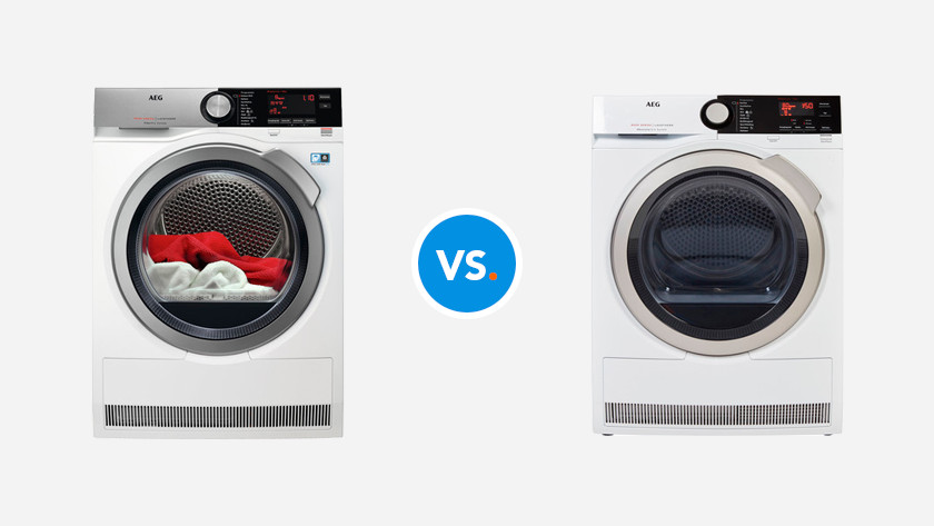 AEG 8000 vs. 9000 tumble dryer series